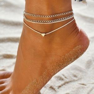 🆕2x Set Anklet Boho Bracelets